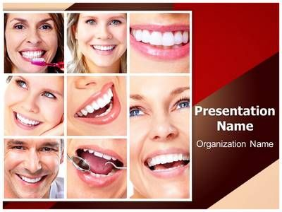 check out our professionally designed #dentistry #smiling collage, Modern powerpoint