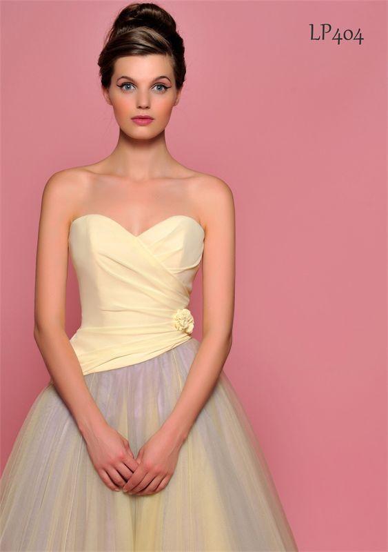 Lou Lou Bridesmaids - yellow dress
