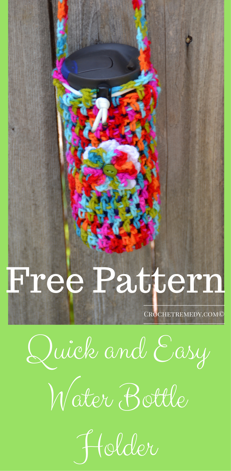 Great crochet pattern for beginners quick and easy pattern great crochet pattern for beginners quick and easy pattern thats free crochet water bottle bankloansurffo Choice Image