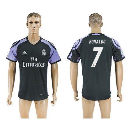 Real Madrid 16-17 Cristiano Ronaldo 7 TRødjedraktsett Kortermet.  http://www.fotballteam.com/real-madrid-16-17-cristiano-ronaldo-7-trodjedraktsett-kortermet.  #fotballdrakter