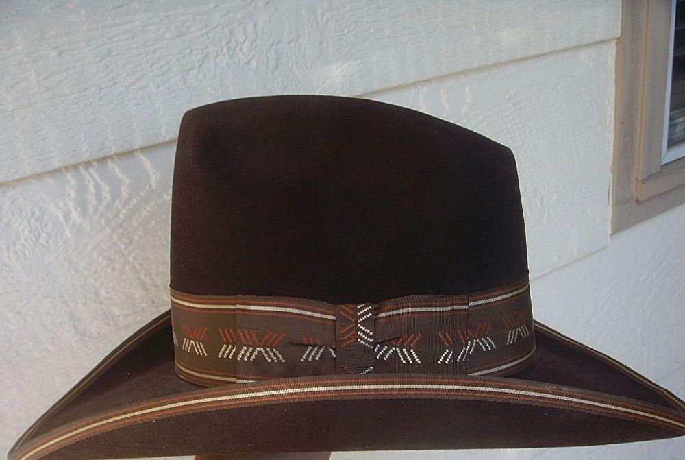 eb3ad3430dd Vintage Resistol Stagecoach Self Conforming Cowboy Hat Size 7 1 2 7 ...
