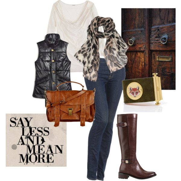 """""""Say Less Mean More"""" by kammy-kenman on Polyvore"""