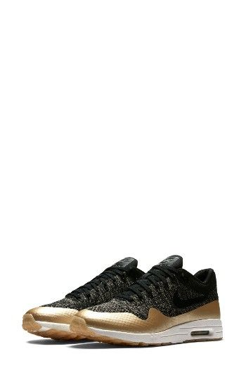 size 40 9cef1 50691 Free shipping and returns on Nike Air Max 1 Ultra 2.0 Flyknit Metallic  Sneaker (Women) at Nordstrom.com. Reinvented for the next generation in  shimmering ...