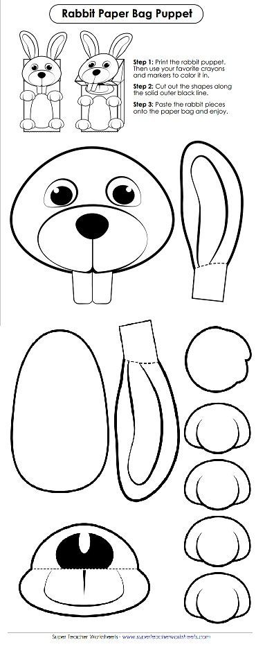 check out this adorable bunny cut out for easter make this into a