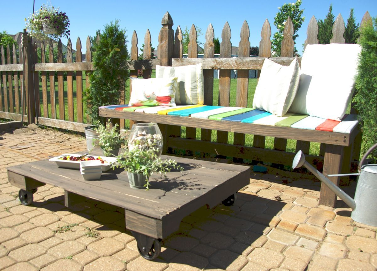 Outdoor Oven Ideas For Summer Fun | Pallet coffee tables, Wood ...