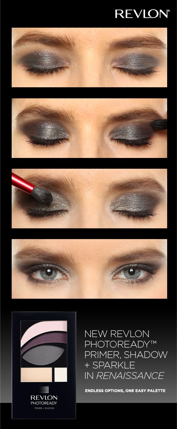 Get A Rich Sultry Look With Our Revlon Photoready Primer Shadow Sparkle In Renaissance Revlon Photoready Eye Art Eye Makeup Makeup
