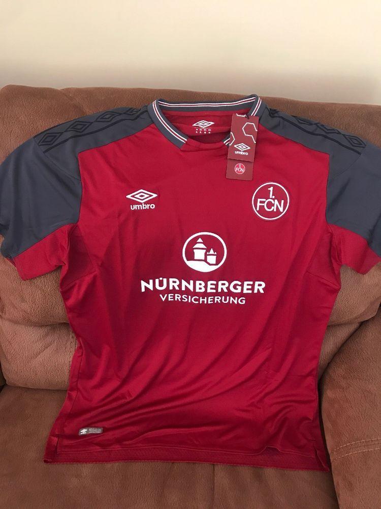 new styles 1d37f b1736 Umbro 1 Fc Nurnberg 17/18 Germany Soccer Jersey NWT Size XL ...