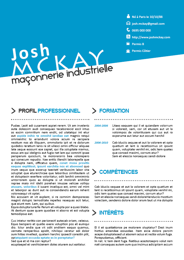 exemple cv atypique CV Original Atypique | CV | Pinterest exemple cv atypique