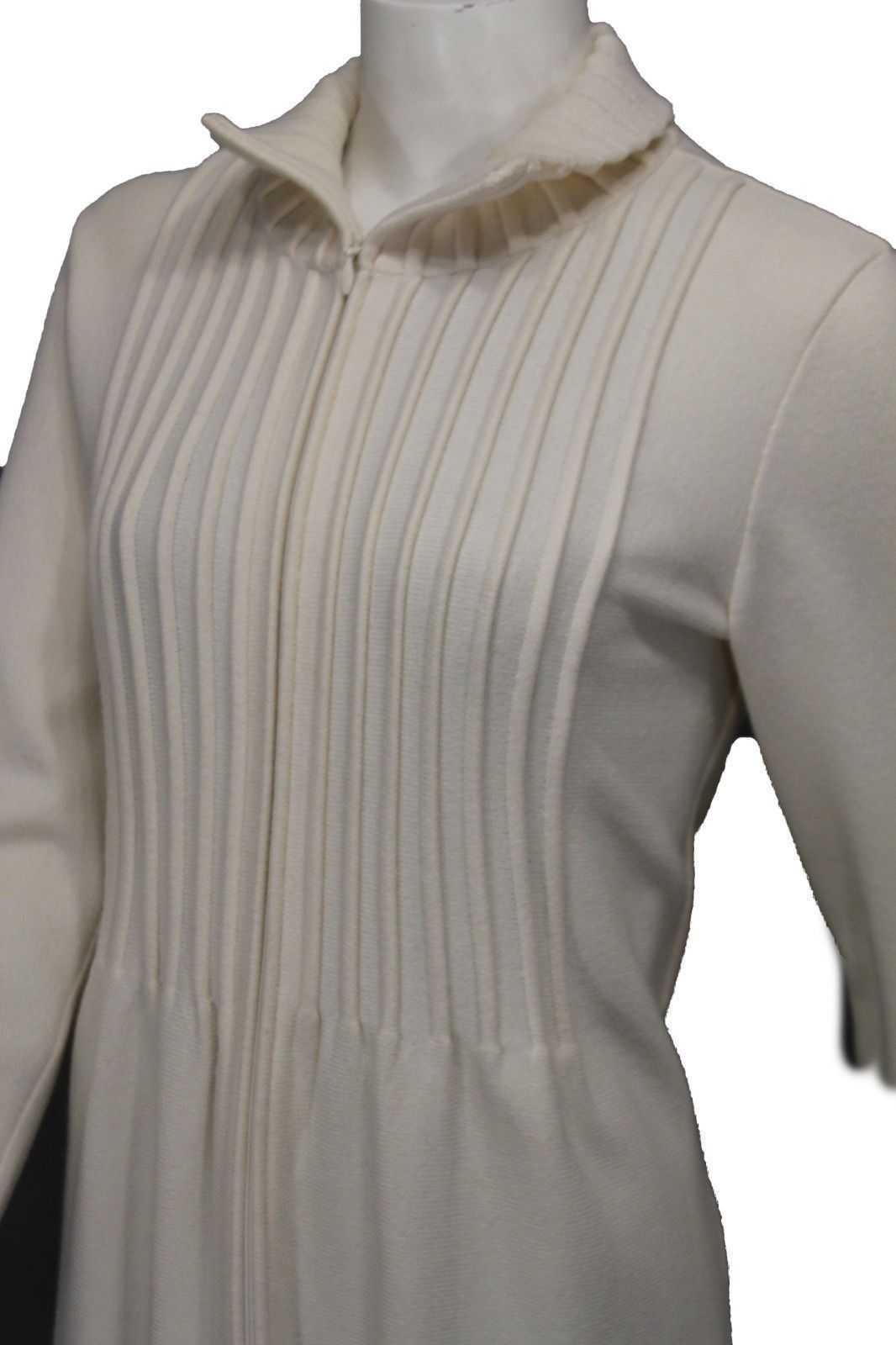 Trendy classic unique chic valentino virgin wool long coat