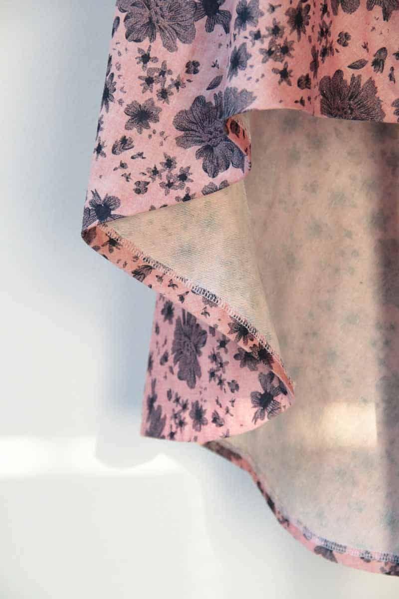 d32611c2b109 Návod a střih na dámskou asymetrickou sukni Oblečení