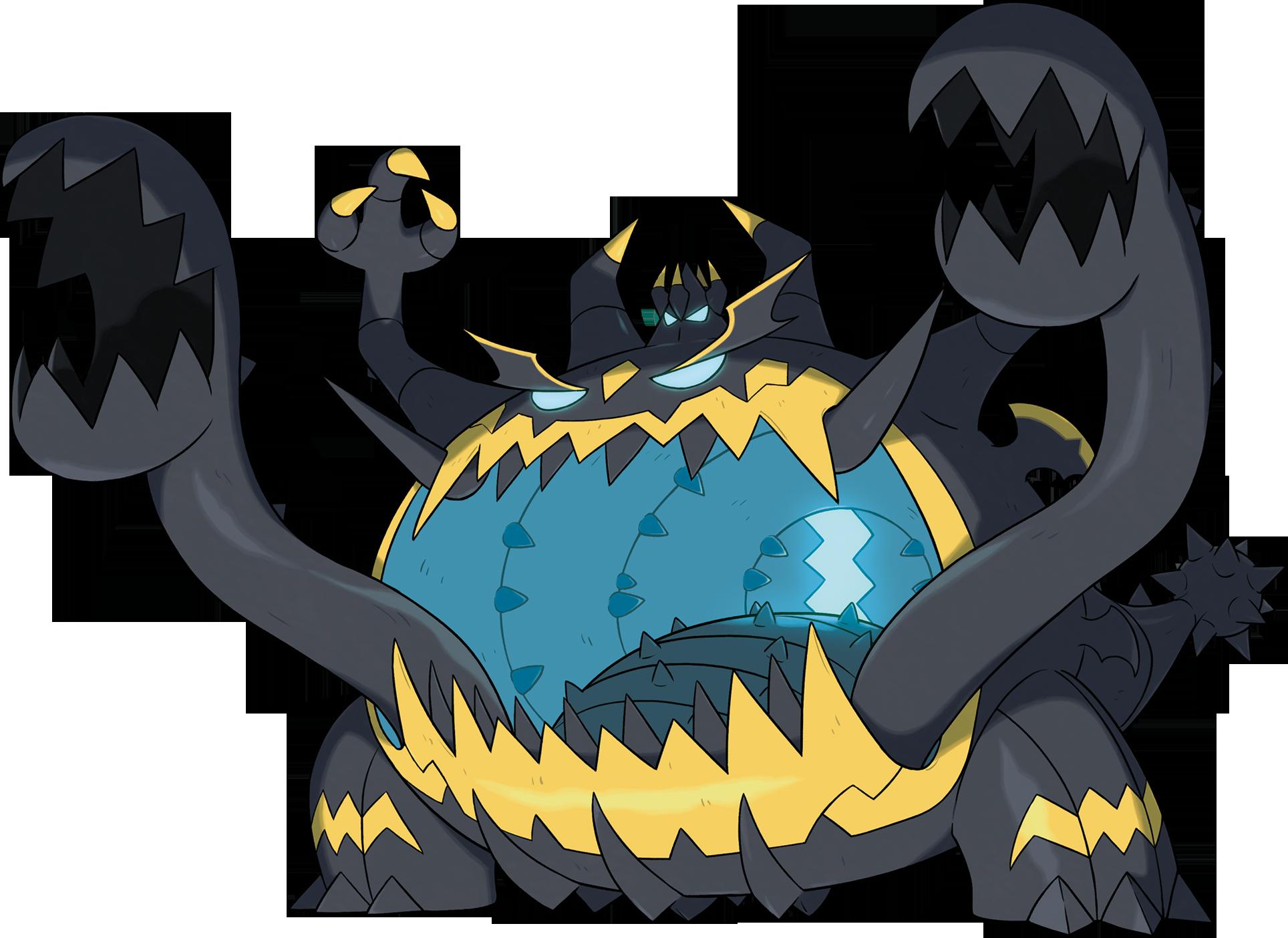 Guzzlord Pokemon Dragon Type Pokemon Pokemon Art
