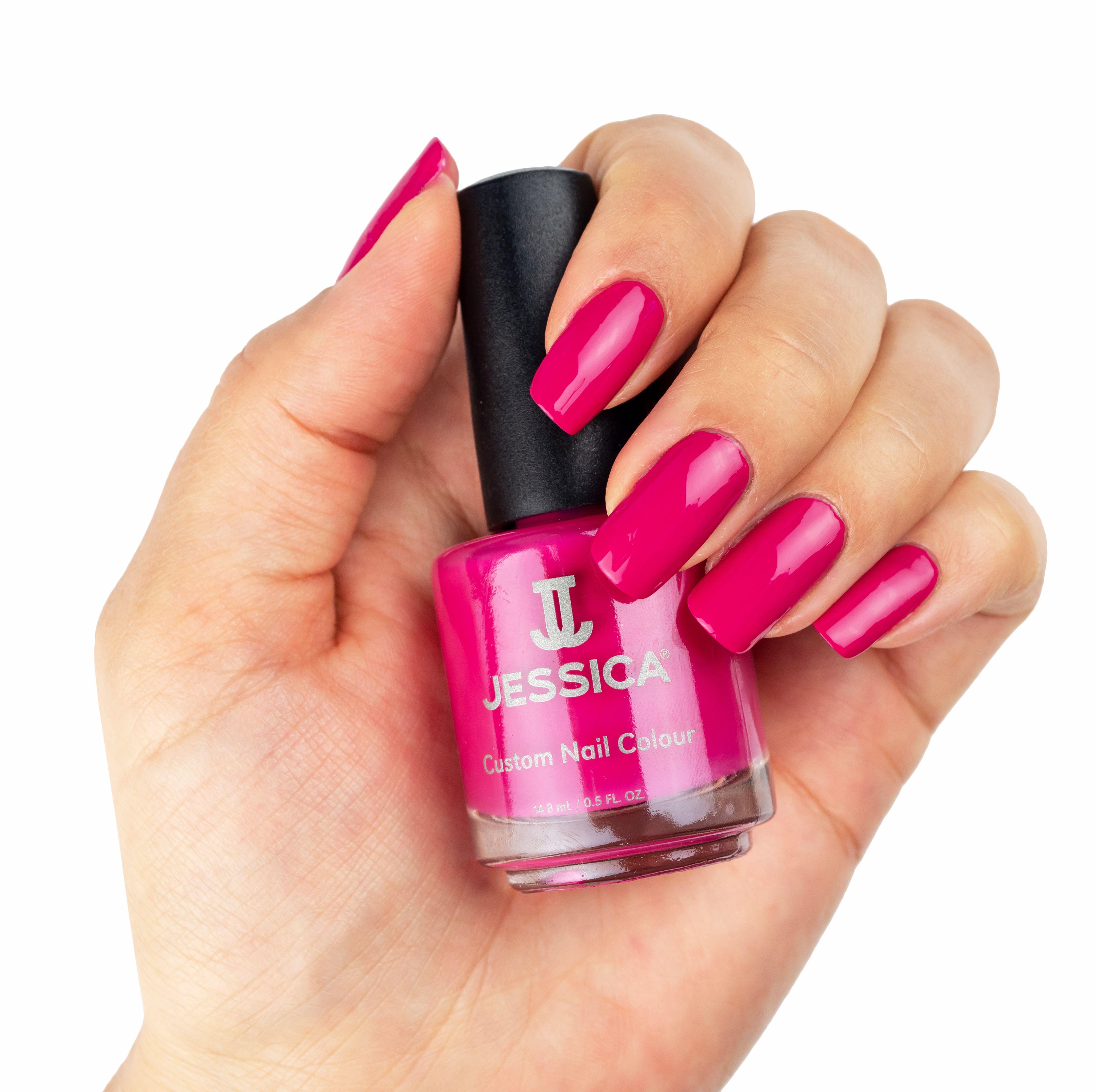 Festival Fuschia Jessica cosmetics, Nail colors, Nail polish