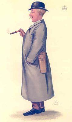 VANITY FAIR SPY CARTOON. Lord Hastings 'Melton'. Sussex. By Lib. 1886