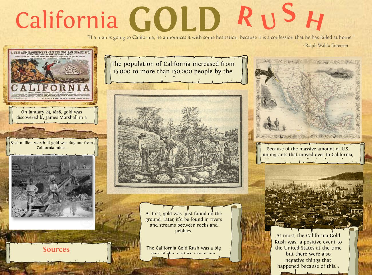 California Gold Rush Began 1 24