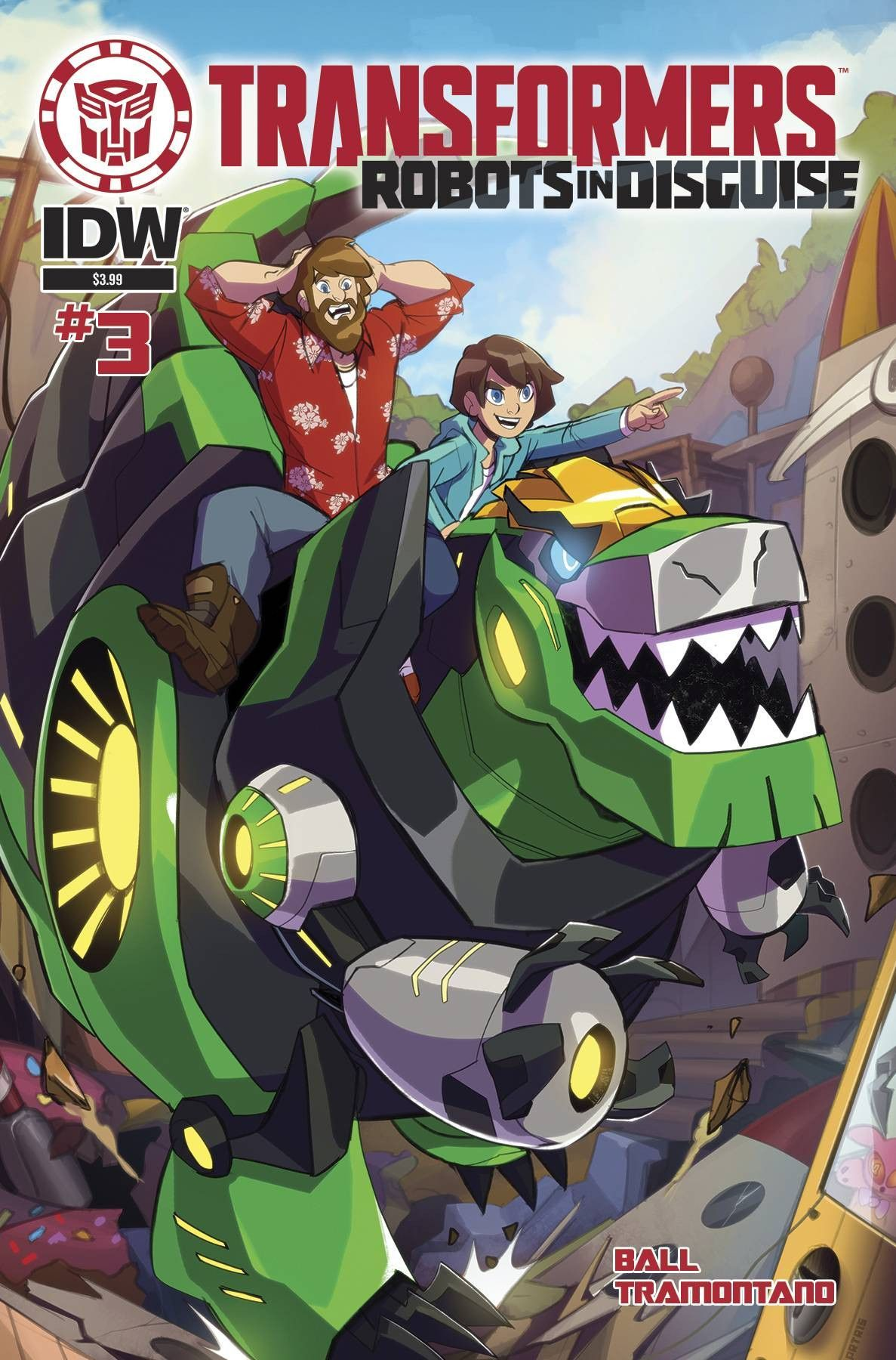 Transformers: Robots in Disguise Animated #3