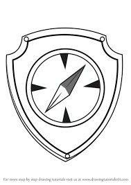 Tracker Paw Patrol Symbol Paw Patrol Badge Paw Patrol Coloring
