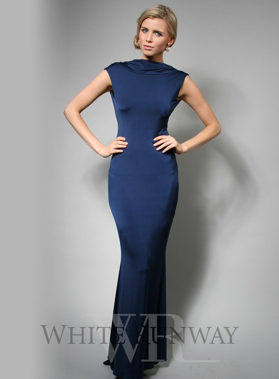 Navy bridesmaid dress blue bridesmaids pinterest spanx
