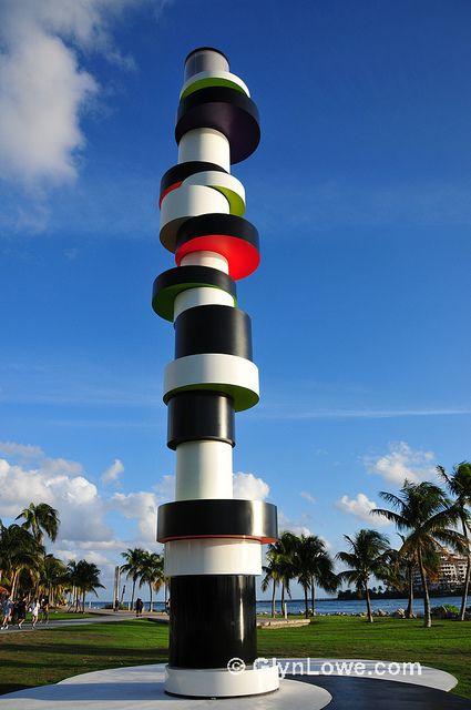 South Pointe Park's Lighthouse, South Beach (Miami Beach, Florida)