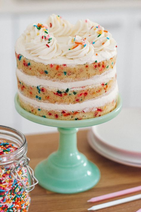 Funfetti Cake  Recipe  Cake Recipes, Funfetti Cake, Cake-9399