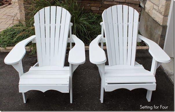 Adirondack Chair instructions to make
