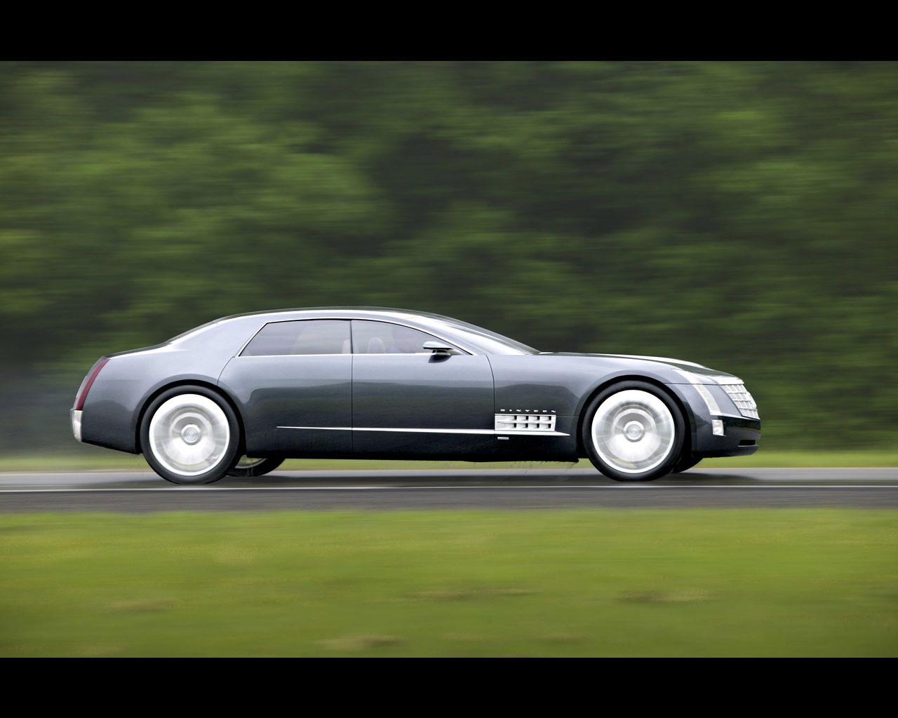 Cadillac Sixteen Concept 4x4 De 2003 Motor V16 De 13 600 Cc Y 1013