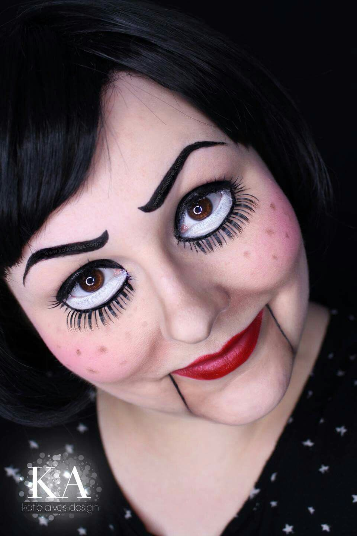 Pin by Sara Gruszka on Halloween Doll makeup halloween
