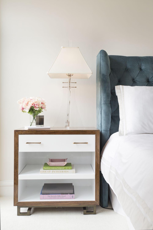 Transitional master bedroom decor  bedroom  Braun  Adams  Gaylord house  Pinterest  Nightstands