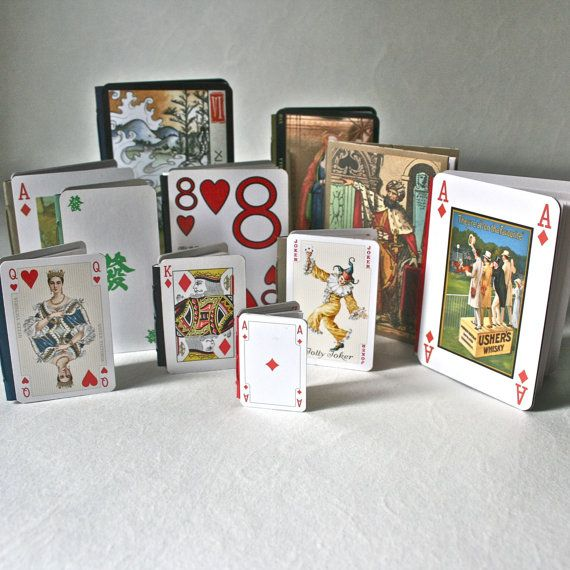 Diy make it yourself playing card book kit for crafting stocking diy make it yourself playing card book kit for crafting stocking stuffer adolescent gift solutioingenieria Choice Image