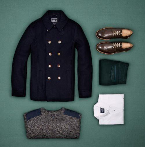 Essentials. Men's Fall Winter Fashion.