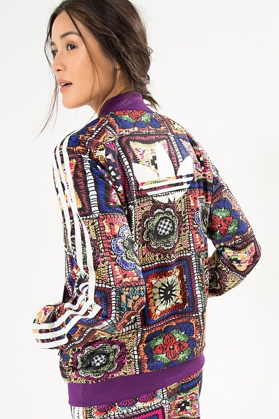279c2e32395 jaqueta crochita adidas