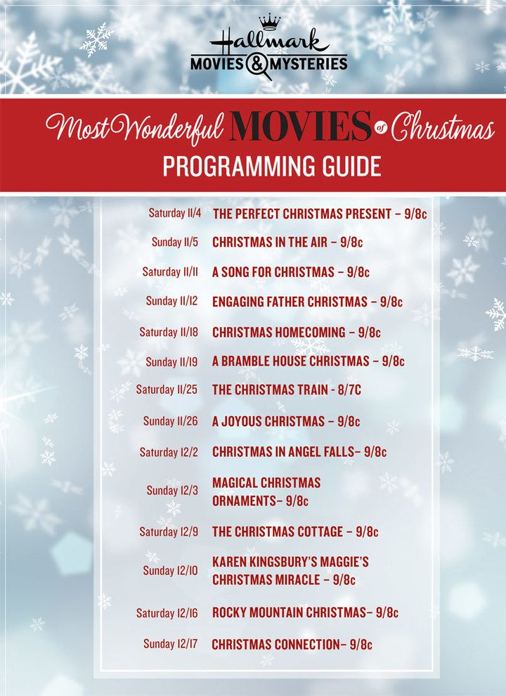 New Movies 2017 The Most Wonderful Movies Of Christmas Hallmark Movies And Mysteries Hallmark Christmas Movies Hallmark Movies Christmas Movies List