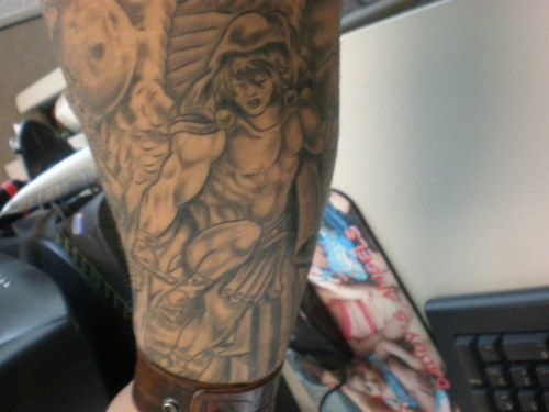 About 'warrior tattoo sleeve'|How Old Is the Rapper Pitbull