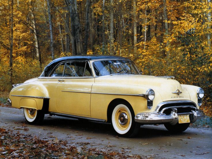 1950 Oldsmobile Futuramic 88 Holiday Coupe