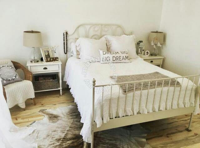Leirvik Ikea Lit Fer Forgé Blanc Leirvik Design Guest Bedrooms