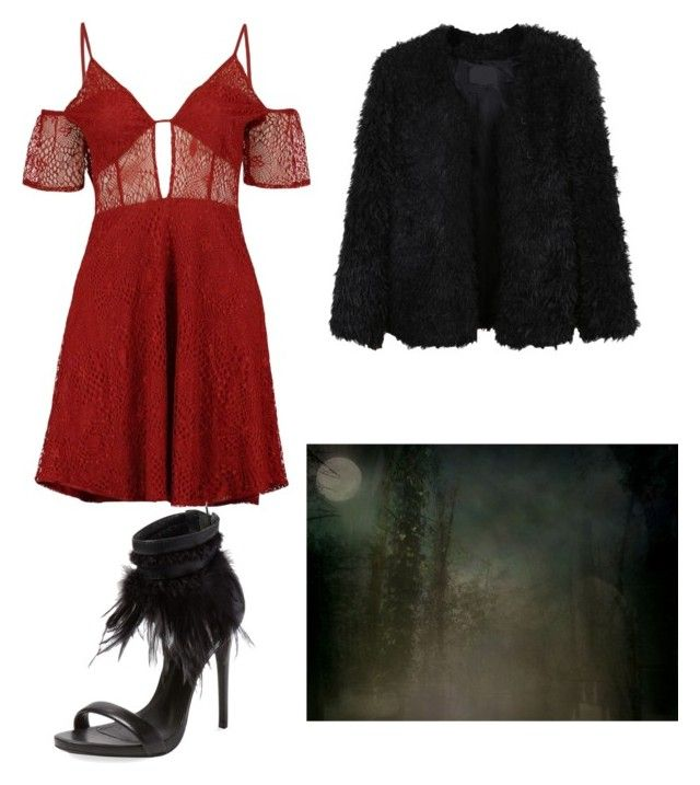 """""""grace 13"""" by zoechengrace on Polyvore featuring Boohoo, LE3NO and Schutz"""