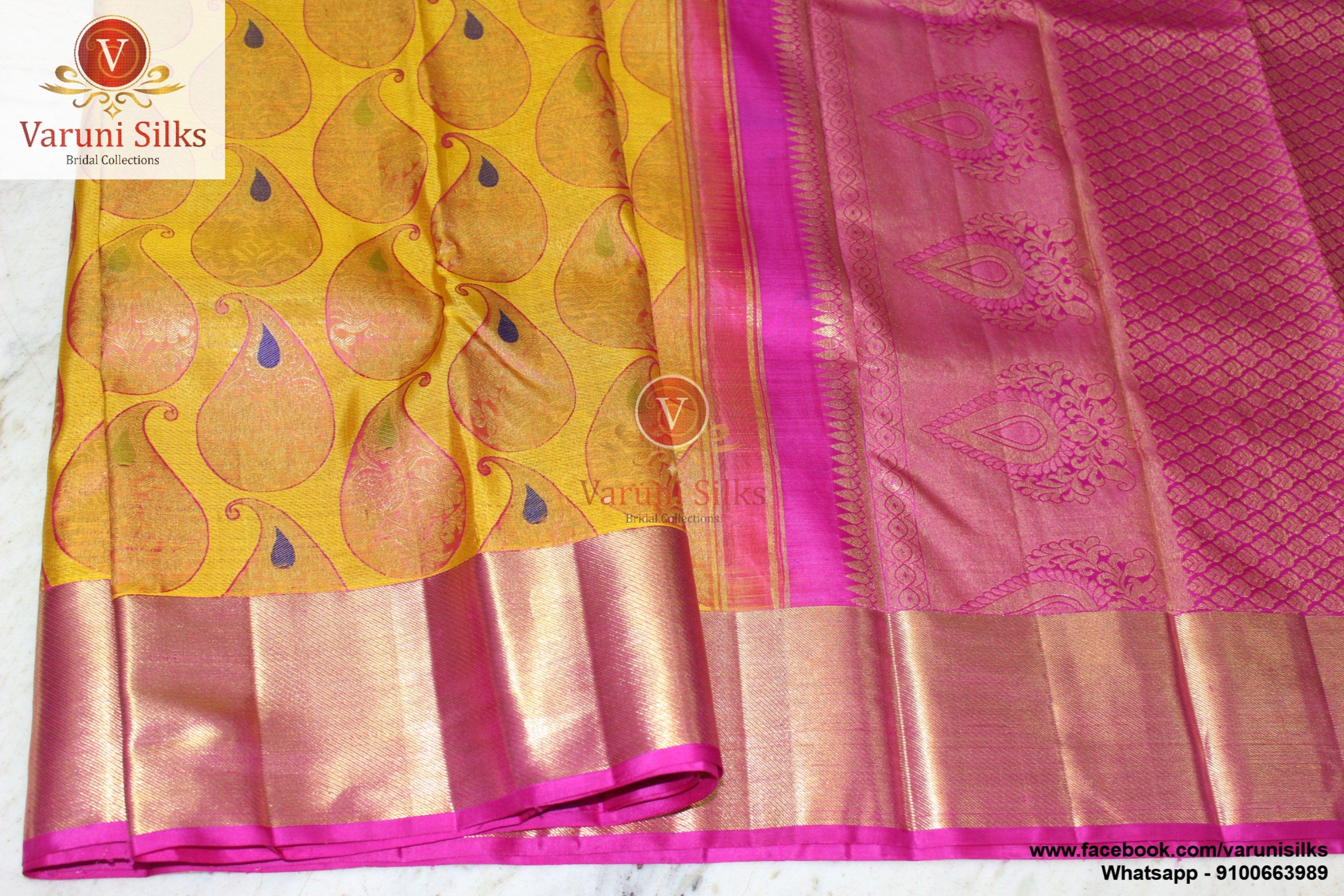 Unique Kanchi Pattu Collection from Varuini Silks