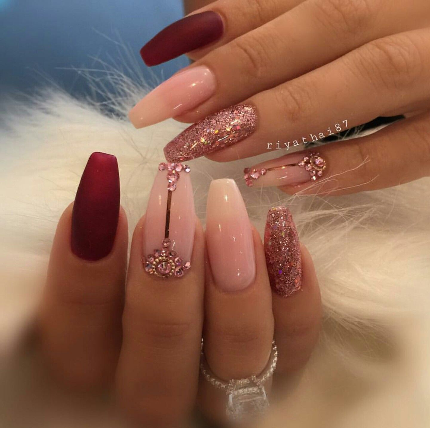 Gorge ♡ | Fake Nails ♡ (Acrylic/Gel) | Pinterest | Coffin nails ...