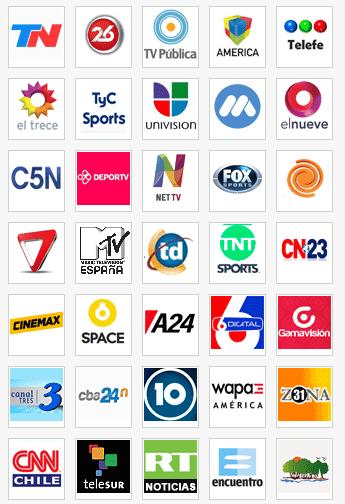 Ver Tv Argentina En Vivo Online En Directo Por Internet Gratis Television Online Live Tv Tv Channels