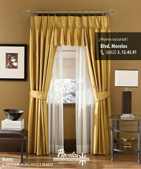 Una bella cortina para terminar de decorar tu habitacion - Decoracion de persianas ...