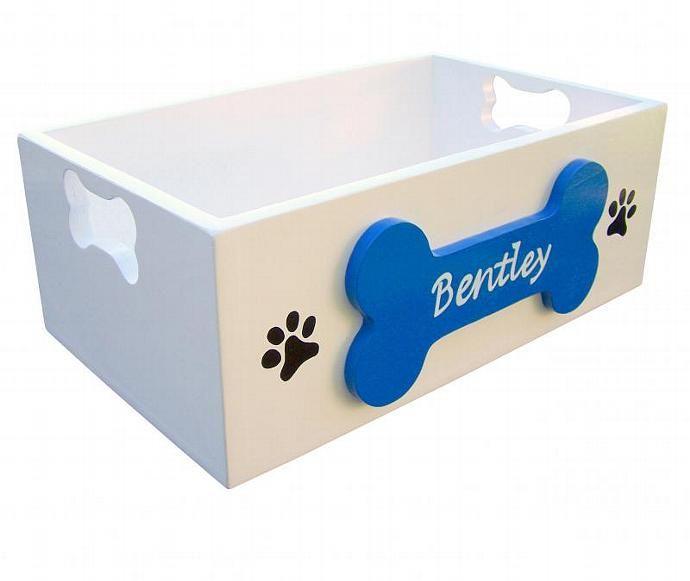 100f04b83926 Personalized Dog Toy Box by sassyfrasstudio, $55.00 USD   Pets   Dog ...