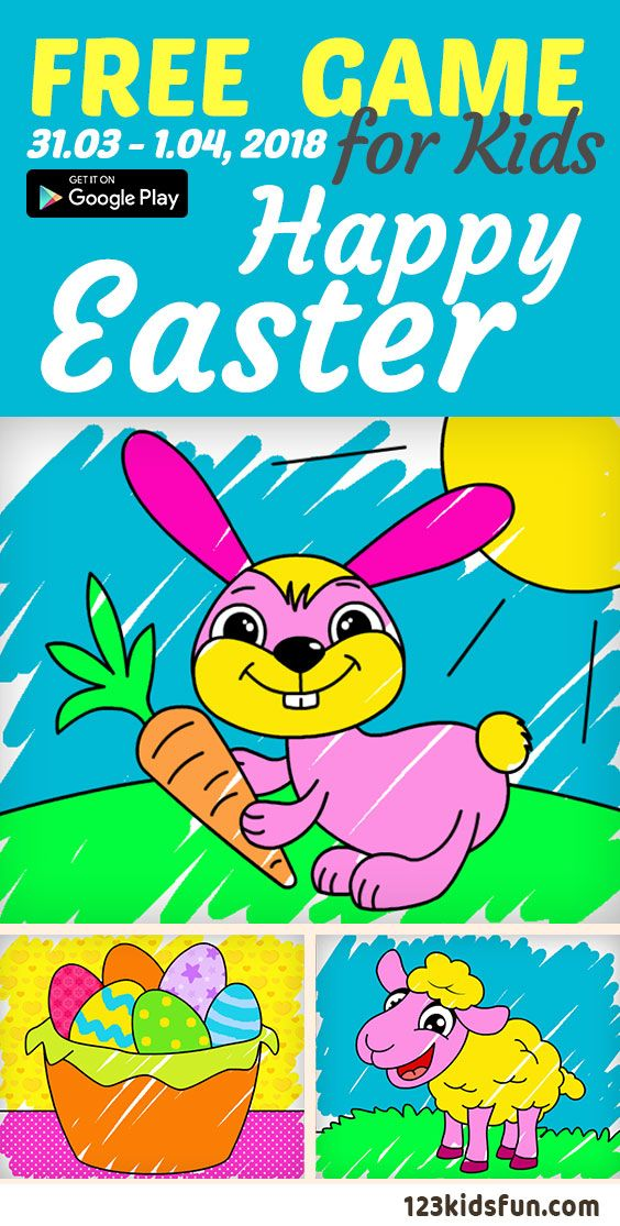 FREE Android Apps for kids 31.011.04, 018. Easter