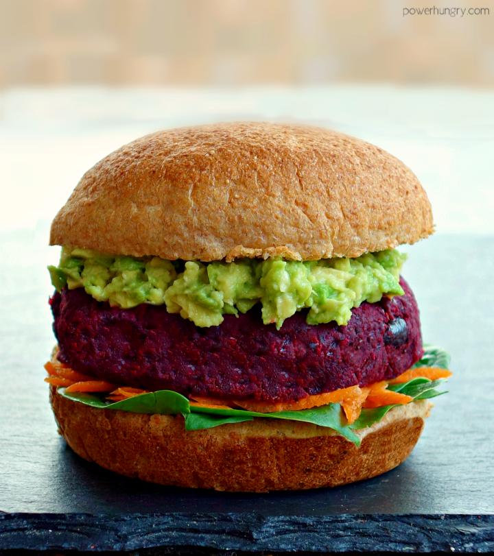 Vegan Grain Free Beet Burgers Oil Free Power Hungry Recipe Beet Burger Vegan Beet Burger Beet Burger Recipe