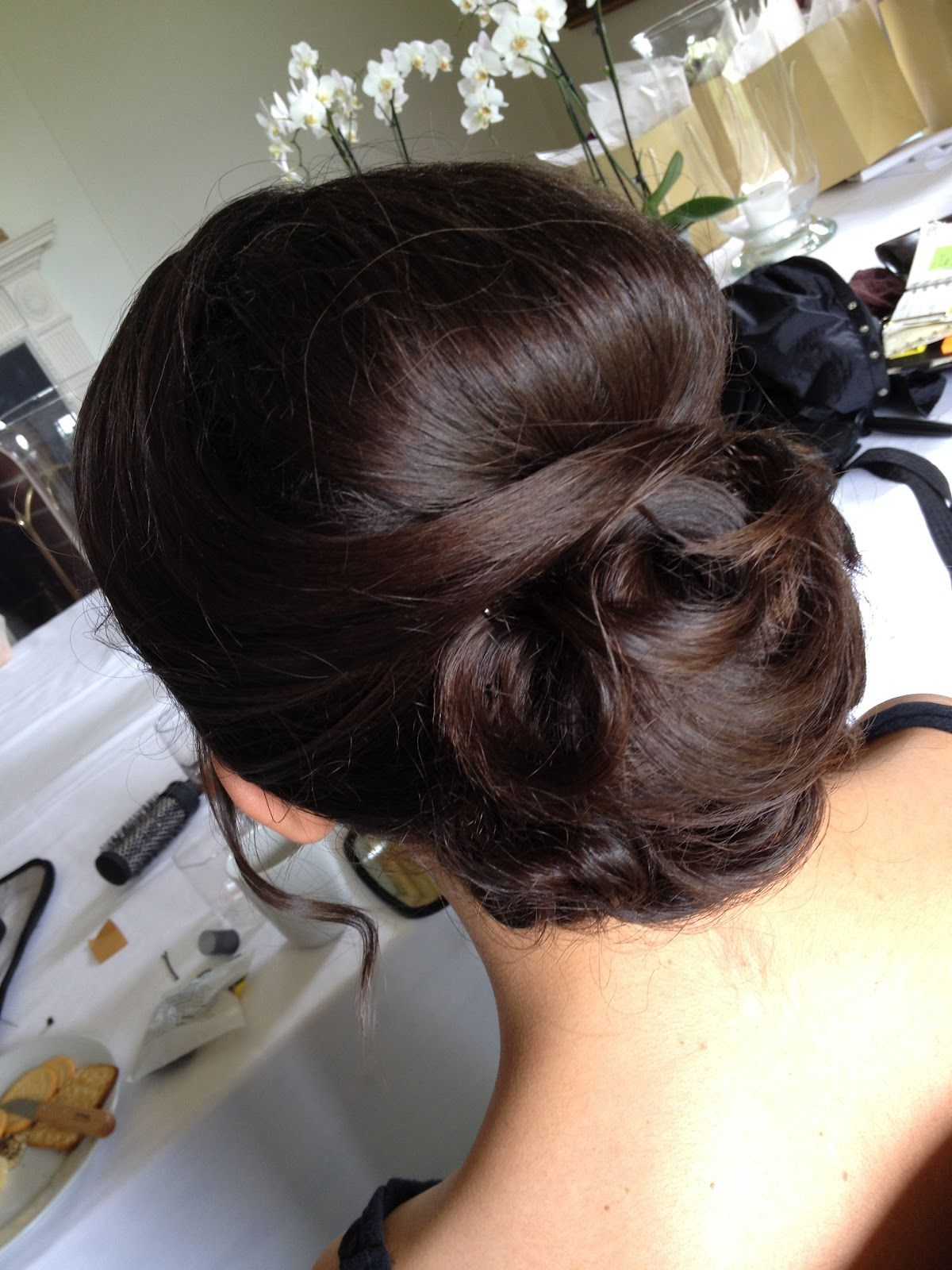 Wedding Hair Do Side Bun With Veil Wedding Hairstyles