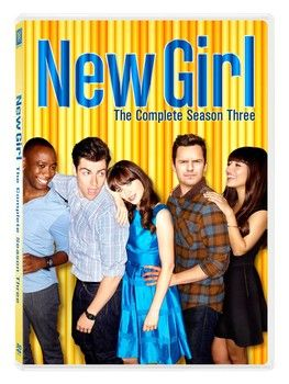 Golden Globe and Emmy-nominated FOX television sitcom 'New Girl: The Complete Third Season' arrives on DVD on Tuesday, September 2, 2014. Cast: Zooey Deschanel, Lamorne Morris, Jake Johnson, Max Greenfield, Hannah Simone, Damon Wayans Jr.