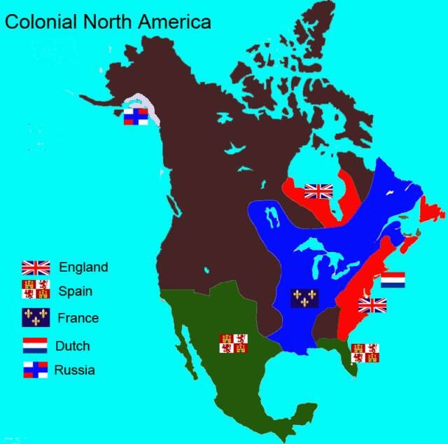a look at america during the colonial era British influence among native american groups in lower louisiana though significantly greater than the rate of growth during the french colonial period.