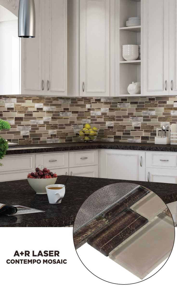 Tile lowes mosaics glassmosaics backsplash lc004erth1213 available at lowes and lowes com