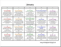 january preschool plans letters n q monthly lesson plans