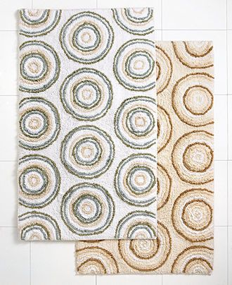 Ultra Spa By Park B Smith Bath Rug Circles Collection Rugs