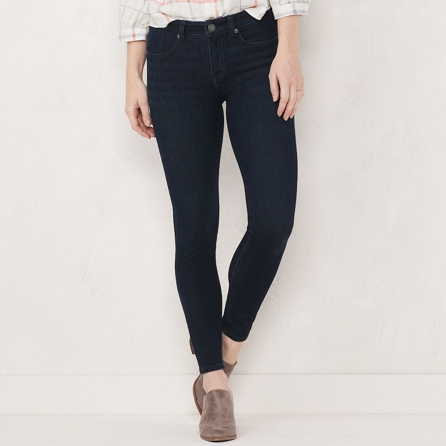 Women's LC Lauren Conrad Feel Good Midrise Super Skinny Jeans