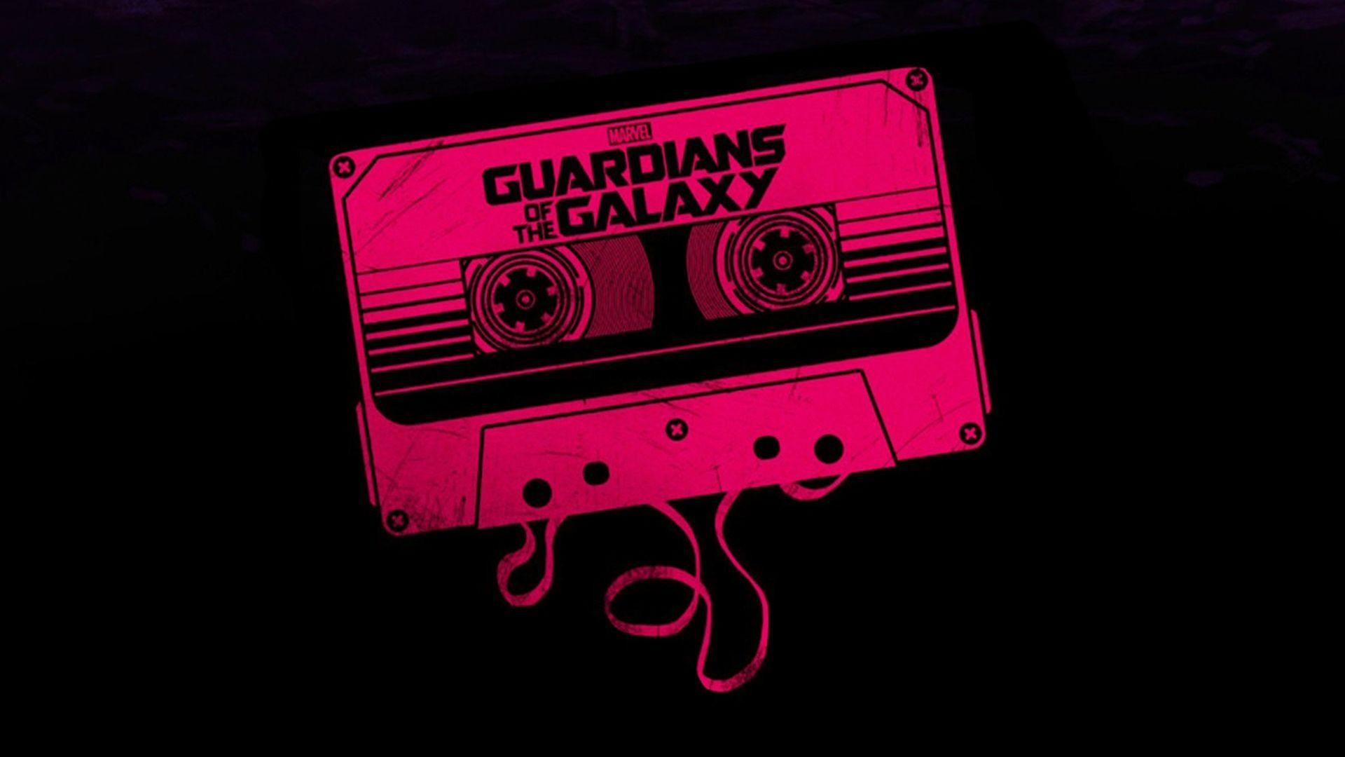 Guardians Of The Galaxy Marvel Cassette Hd Wallpaper Jpg 1920 1080 Herois Marvel Marvel Wallpaper